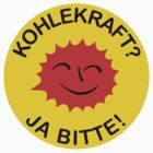 Kohlekraft? Ja bitte! by glyphobet