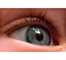 Childs Eye Photographic Print