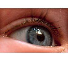 Childs Eye Photographic Print