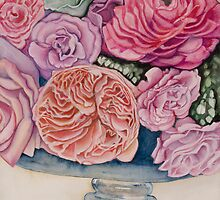 Heirloom Roses by Lori Elaine Campbell