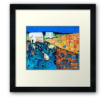 Homesick Framed Print
