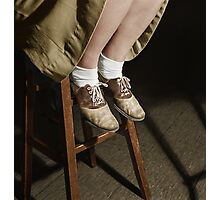 1943 Oct Washington, D.C. Saddle shoes are still popular at Woodrow Wilson High School Photographic Print