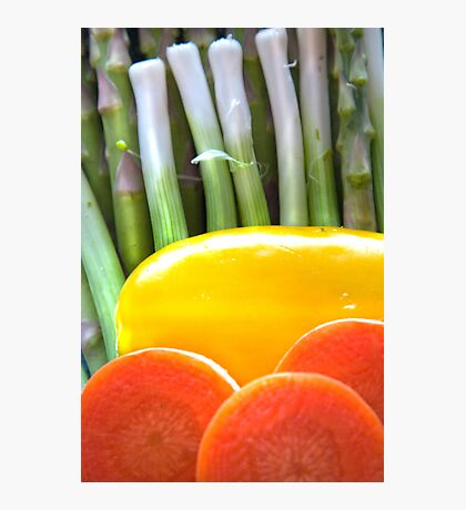 Vegetable Abstract Photographic Print