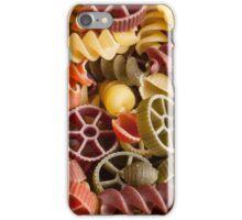 Pasta background iPhone Case/Skin