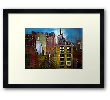 Places to Hide Framed Print