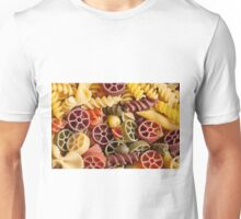 Pasta background Unisex T-Shirt