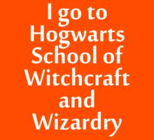I go to Hogwarts T-Shirt