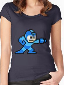 Mega Man Women's Fitted Scoop T-Shirt