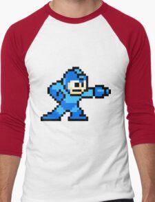 Mega Man Men's Baseball ¾ T-Shirt