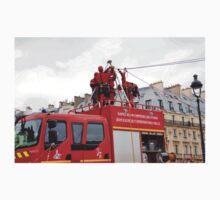 Paris firefighters training One Piece - Short Sleeve