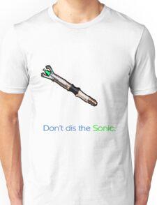 Oi!  Don't dis the sonic. Unisex T-Shirt