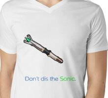 Oi!  Don't dis the sonic. Mens V-Neck T-Shirt