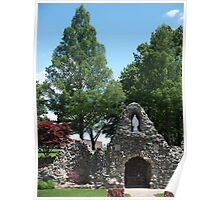 Grotto at Shrine of the Miraculous Medal Poster