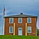 Original Meigs County (Ohio) Court House by Bryan D. Spellman