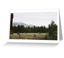 Quiet Ranch - Flagstaff, AZ Greeting Card