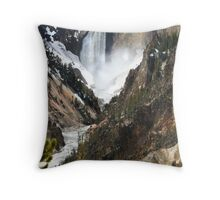 The Heart of Yellowstone Throw Pillow