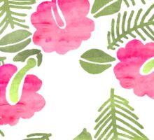 Flor de Watercolor Sticker