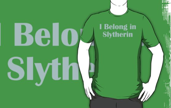 I belong in Slytherin by meldevere