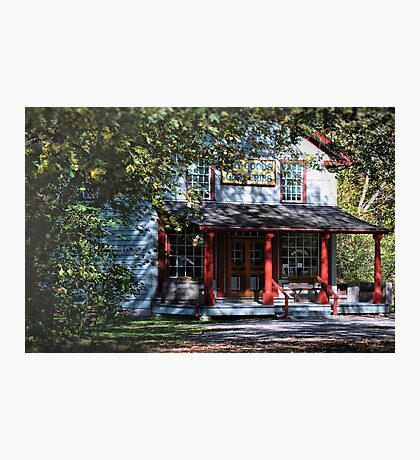 Small Town Charm Photographic Print
