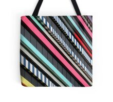Multicolor façade Tote Bag