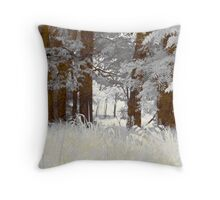 Greenway Trees Throw Pillow