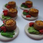 macaroni pies 'n' salad by Babz Runcie