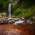 Glenevin Waterfall by Neil Carey