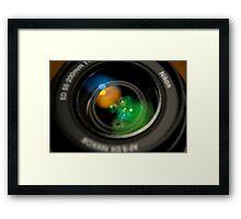 AF-S NIKKOR 55-200mm 1:4-5.6G ED Framed Print