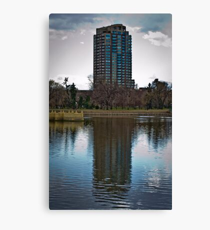 No Metaphor - Denver City Park Canvas Print