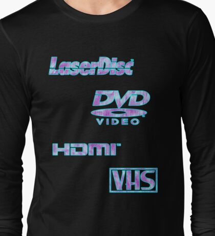 Digital Mediums (Vaporwave Fanatic Edition) Long Sleeve T-Shirt