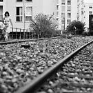 Railway girl by Nayko