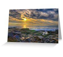 Crystal Cove Tide Pools Greeting Card