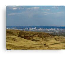 Denver View Canvas Print