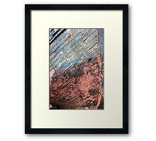 old sailor Framed Print