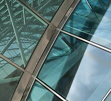 Architectural Abstract No.5 by Orla Cahill Photography
