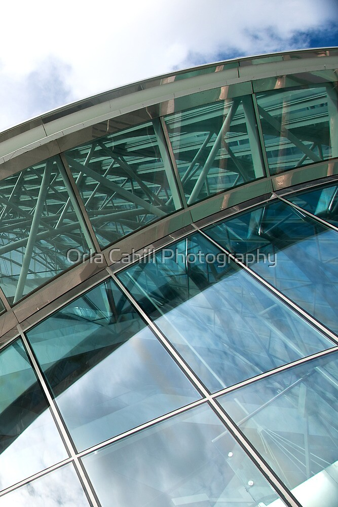 Architectural Abstract No.6 by Orla Cahill Photography