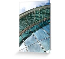 Architectural Abstract No.6 Greeting Card