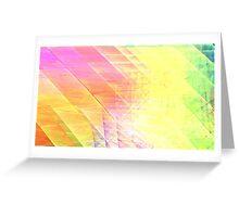 Prism Lines Greeting Card