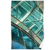 Abstract Window Detail Poster