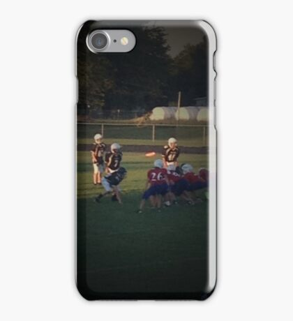 Supporting the Home Team iPhone Case/Skin