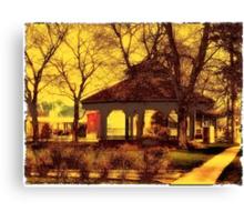 Depot Park Gazebo Canvas Print
