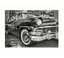 1956 FORD FAIRLANE Art Print