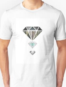Diamond lens Unisex T-Shirt