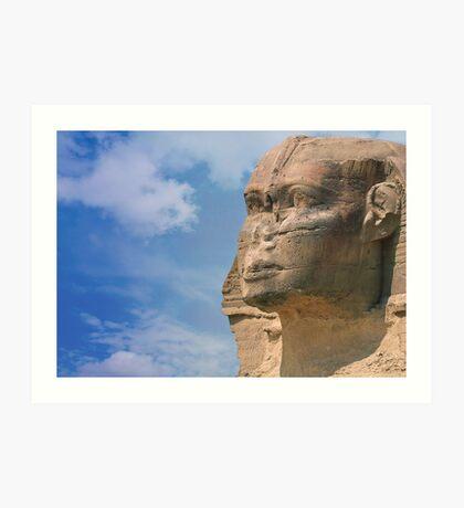 sphinx.. Art Print