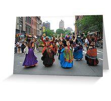 Dance Parade 5/22/11, Manhattan Greeting Card