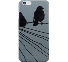 Evening Crows iPhone Case/Skin