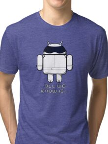 British Racing Droid (text) Tri-blend T-Shirt