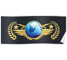 Global Elite Emblem Poster
