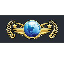 Global Elite Emblem Photographic Print