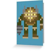 8-Bit Big Daddy Greeting Card